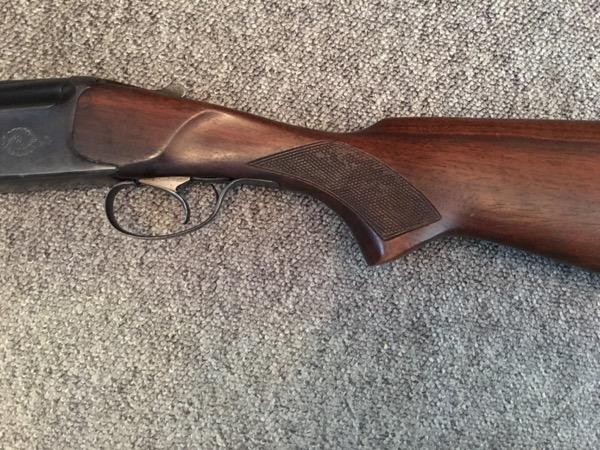Cheap O/U Shotgun (12g, single trigger, ejectors)